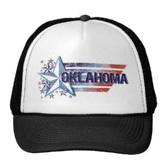 Vintage USA Flag with Star – Oklahoma Hats
