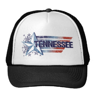 Vintage USA Flag with Star – Tennessee Hat