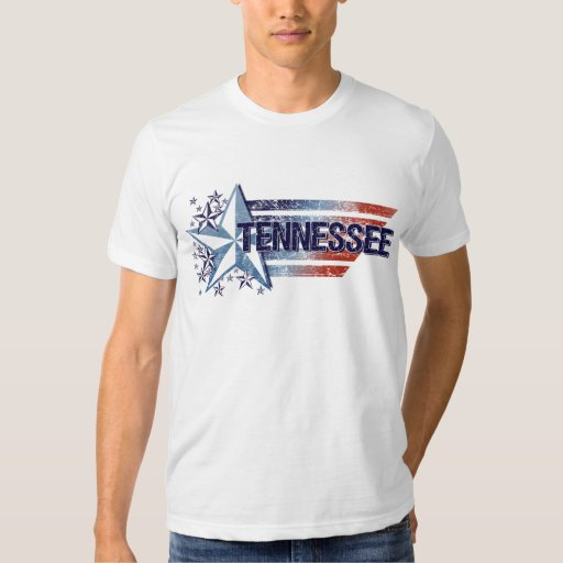 Vintage USA Flag with Star – Tennessee T-Shirt
