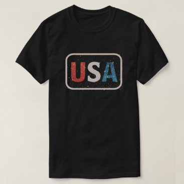 USA Themed Vintage USA United States of America T-Shirt