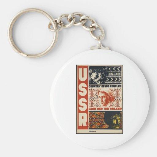 Vintage USSR Key Chain