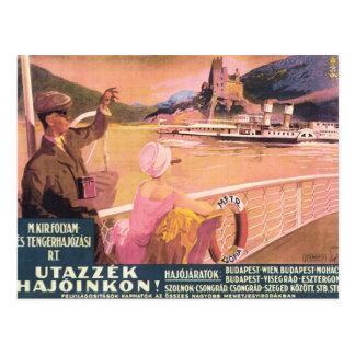 Vintage Utazzek Hajoinkon Tarjeta Postal