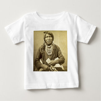 Vintage Ute Indian Poker Player with Pistol Shirt