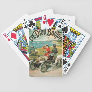 Vintage Vacations Bicycle Playing Cards