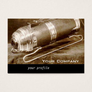 vintage vacuum cleaner business card