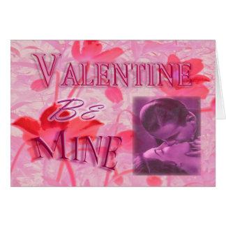 Vintage Valentine #3 Card
