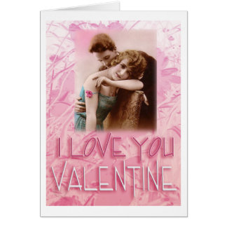 Vintage Valentine #6 Card