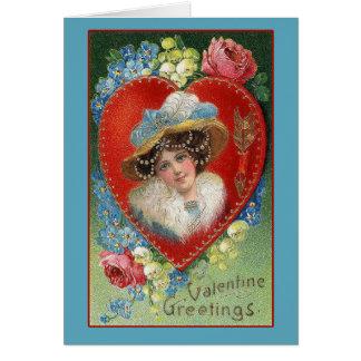 Vintage Valentine Art Greeting Cards