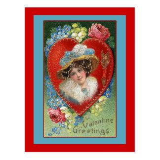Vintage Valentine Art Greeting Cards Postcards