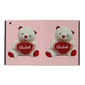 Vintage Valentine Bear With Heart iPad Air 2 Case iPad Case