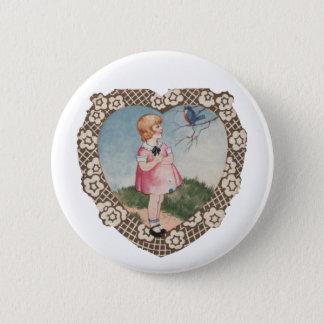Vintage Valentine Button