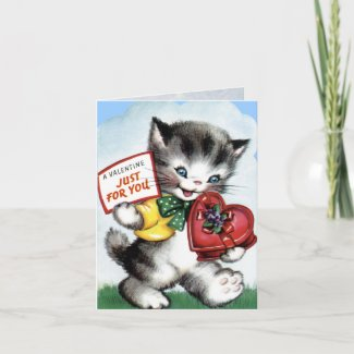 Vintage Valentine Card for Kids!