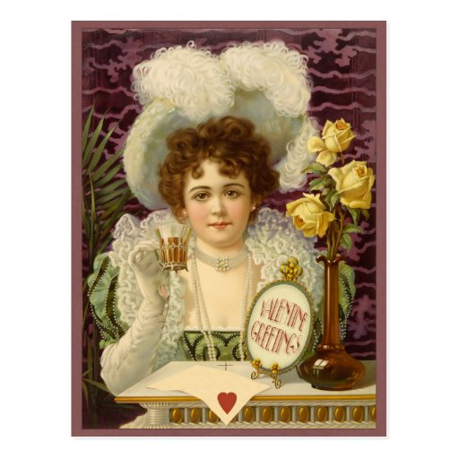 Vintage Valentine CC0348 Postcard