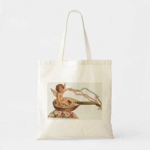 Vintage Valentine Cupid Loves Melodies Bag