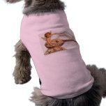 Vintage Valentine Cupid Loves Melodies Doggie Tshirt