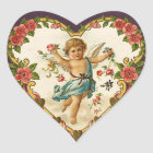 Vintage Valentine Cupid Stickers