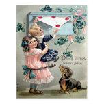 Vintage Valentine Dachshund Postcards