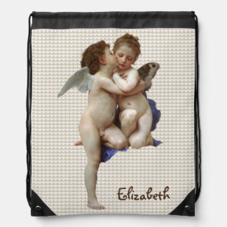 Vintage Valentine First Kiss Backpack