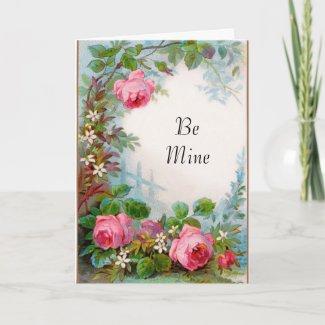 Vintage Valentine Greeting Card card