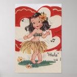 Vintage valentine - impresiones