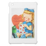 Vintage Valentine Knitting Case For The iPad Mini