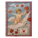 Vintage Valentine notebook