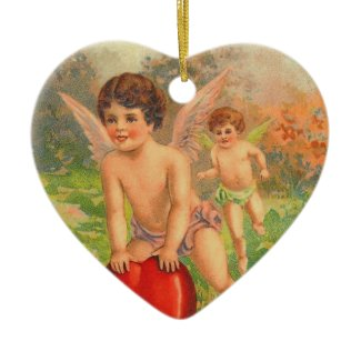 Vintage Valentine Ornament ornament