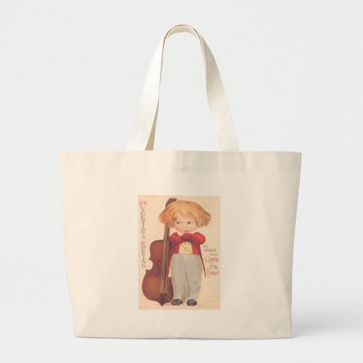 Vintage Valentine Queen of My Heart Tote Bag