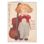 Vintage Valentine Queen of My Heart Greeting Cards