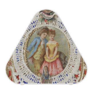 Vintage Valentine Speaker with Initials