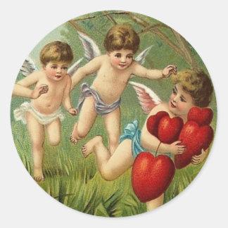 Vintage Valentine Stickers