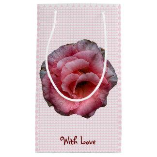 Vintage Valentine Tea Rose Gift Bag