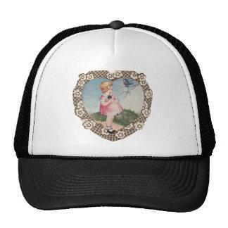 Vintage Valentine Trucker Hat