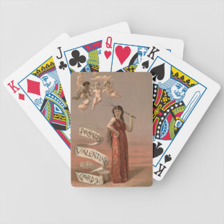 Vintage : Valentine's day - Bicycle Playing Cards