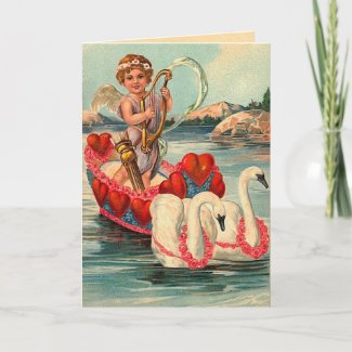 Vintage Valentine's Day Card card