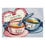 Vintage Valentine's Day Card for Kids