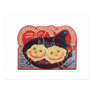 vintage Valentine's Day card postcard