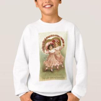 Vintage Valentine's Day Friendship Sweatshirt