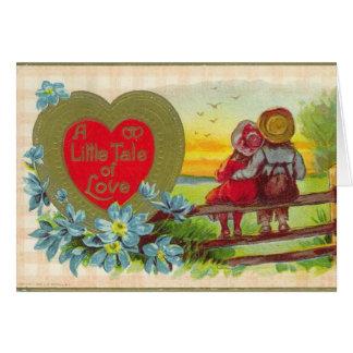 Vintage Valentine's Day Greeting Card