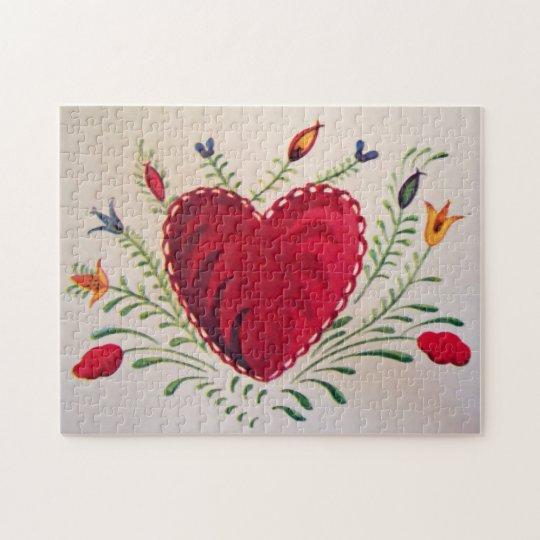 Valentine S Day Vintage Toys : Vintage valentine s day jigsaw puzzle zazzle