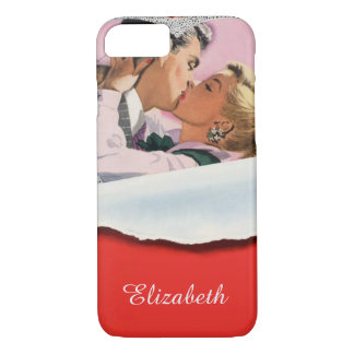 Vintage Valentine's Day, Love and Romance iPhone 7 Case
