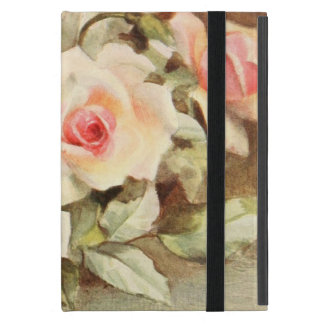 Vintage Valentine's Day Love Romance Pink Roses iPad Mini Covers