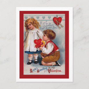 Old Valentine Cards Zazzle