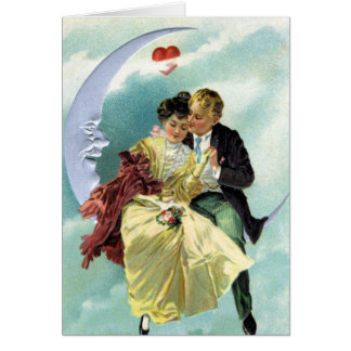 Vintage Valentine's Day Victorian Love and Romance Card