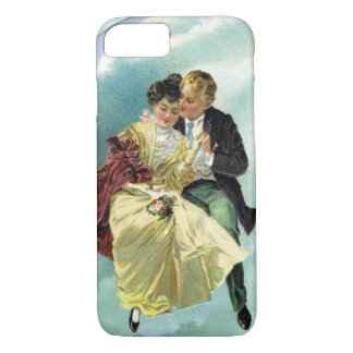 Vintage Valentine's Day Victorian Love and Romance iPhone 7 Case