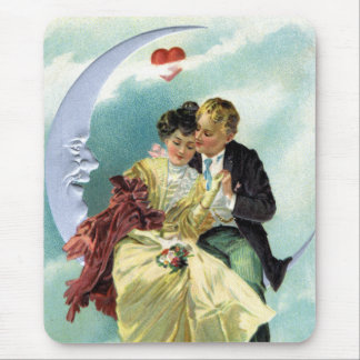 Vintage Valentine's Day Victorian Love and Romance Mouse Pad