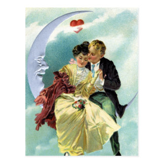 Vintage Valentine's Day Victorian Love and Romance Postcard