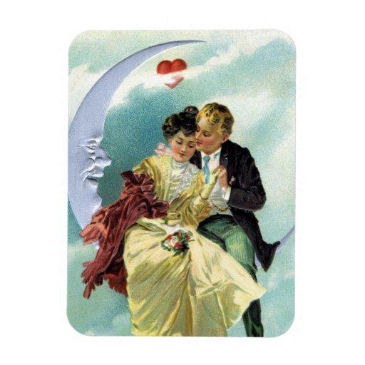 Vintage Valentine's Day Victorian Love and Romance Vinyl Magnets