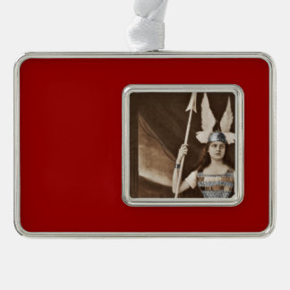 Vintage Valkyrie Girls Ornament