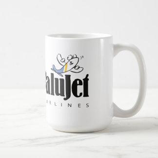 Vintage ValuJet Airlines Glassware Coffee Mug